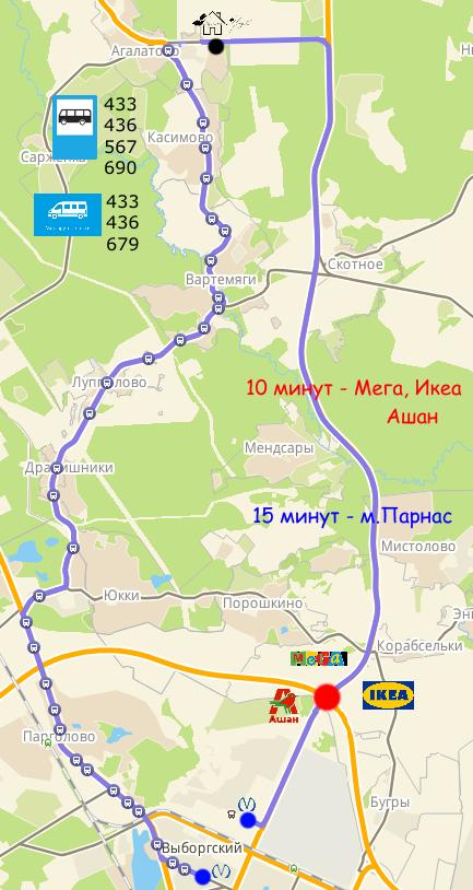 ЖК Барская Усадьба, Агалатово