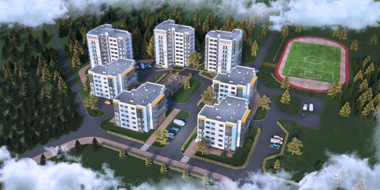 ЖК 84 Высота, Агалатово