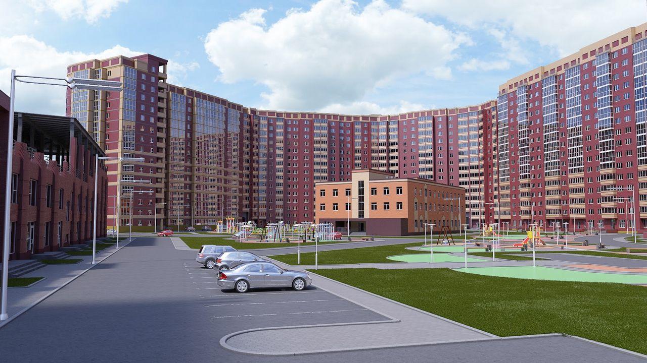 ЖК Радужный каскад, Новосибирск