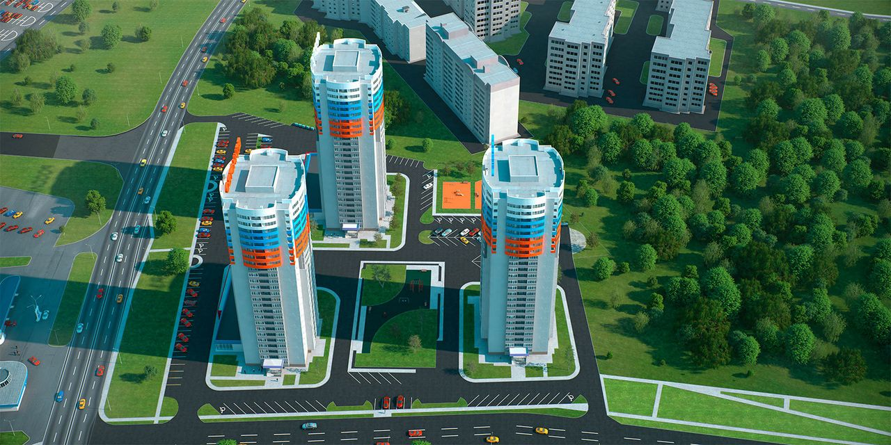 ЖК Триколор, Рязань